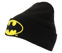 Strickmütze - Batman – Logo schwarz