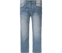 Sweatjeans Regular Size blue denim