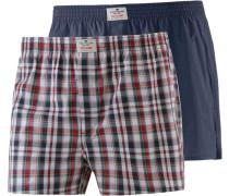 Boxershorts marine / rot / weiß