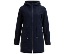 Parka-Mantel nachtblau