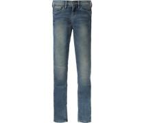 Jeans 'pixlette' Skinny Fit für Mädchen blau
