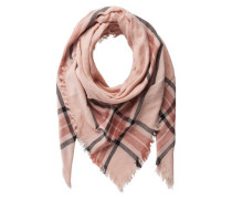 Halstuch mit Karo-Muster 'pclarina' rosa