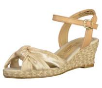 Sandalen chamois / gold