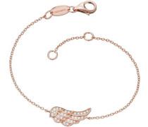 Armband mit Zirkonia 'Flügel Lil' Erb-Lilwing-Zi-R' rosegold