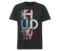 T-Shirt 'Umito' anthrazit / mischfarben