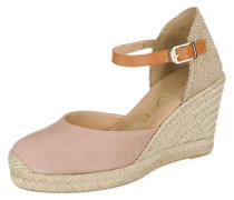 Sandaletten 'Castilla' rosa / naturweiß
