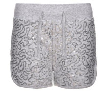 Shorts 'nitkacy' grau / graumeliert