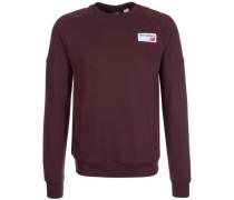 Premium Archives Crew Sweatshirt Herren rot