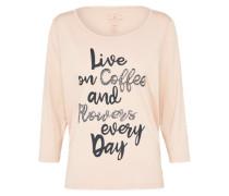 Print Shirt rosé