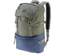 'davenport Backpack' Daypack rauchblau / oliv
