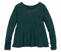 Langarmshirt aus weicher Viskose grün