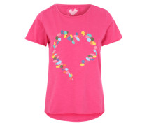 Print-Shirt 'CirstenL' mischfarben / pink