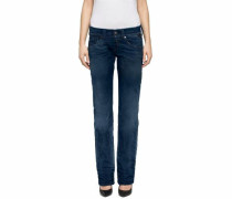 Straight-Jeans indigo