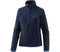 Element Track Softshelljacke Damen dunkelblau