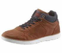 -Sneaker braun / hellbraun