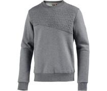 Sweatshirt Herren graumeliert