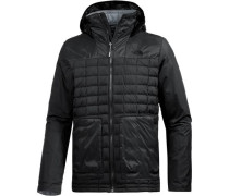 Funktionsjacke 'ThermoBall FZ Zip-In' schwarz