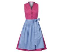 Dirndl 'Angela' blau / pink