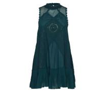 Verspieltes Kleid aus Spitze grün