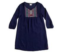 Langarm-Kleid »Mojos« blau