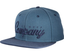 The Company Cap Navy blau
