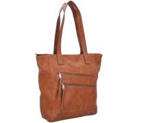 Lora Shopper Tasche 33 cm braun