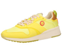Sneaker gelb / hellgelb / braun