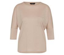 Shirt aus Leinen beige / pink