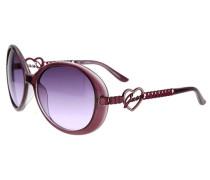 Sonnenbrille lila