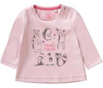 Baby Langarmshirt für Mädchen rosa