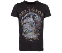 T-Shirt Pinup schwarz