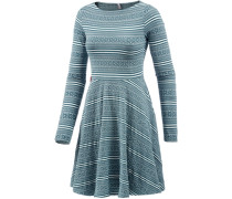 Jerseykleid Damen blau