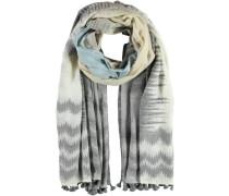 Schal 'Avezzano' beige / hellblau / grau