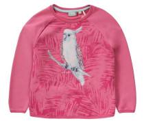 Sweatshirt für Mädchen UV-Schutz 30+ pink