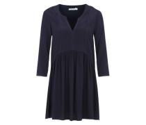 Kleid im Tunika-Stil blau