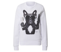 Sweatshirt 'Champagne Dog'