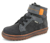 Sneaker Bravo Leder grau