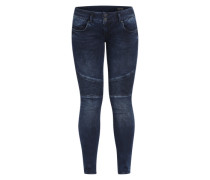 'Moira' Slim Fit Jeans blau