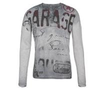 Sweatshirt 'Scuderia' grau