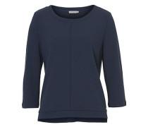 Sweatshirt mit 3/4 Arm dunkelblau