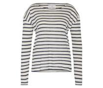 Streifen-Shirt 'Dorrie' weiß