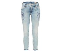 Skinny Jeans 'Touch Cropped Denim Powerstretch'