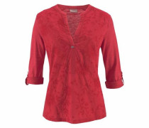 Klassische Bluse 'Giant New' rot