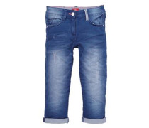 Dreiviertel-Jeans Slim-Size blue denim