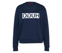 Sweatshirt 'Nicci' navy / weiß
