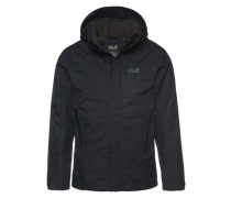 Winterjacke 'Northern Edge' schwarz