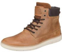 Sneakers karamell / dunkelbraun