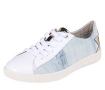 Sneaker 'Solstice' hellblau / gold / weiß