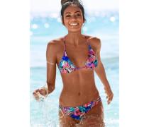 Triangel-Bikini blau / türkis / koralle / pink
