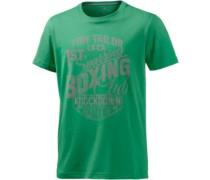 Printshirt Herren grün